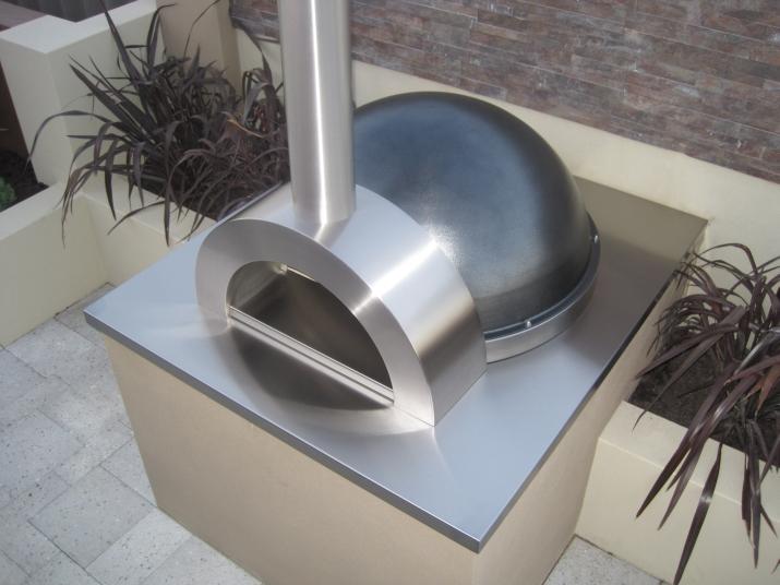 z110 woodfired pizza oven zesti ovens perth wa. Black Bedroom Furniture Sets. Home Design Ideas