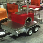 Trailer Pizza Woodfired Oven