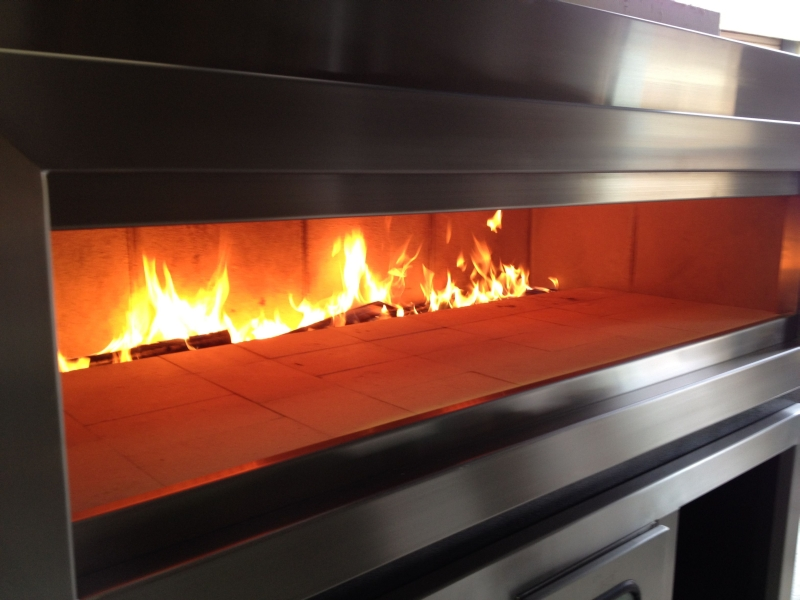 Wide Mouth Pizza Oven