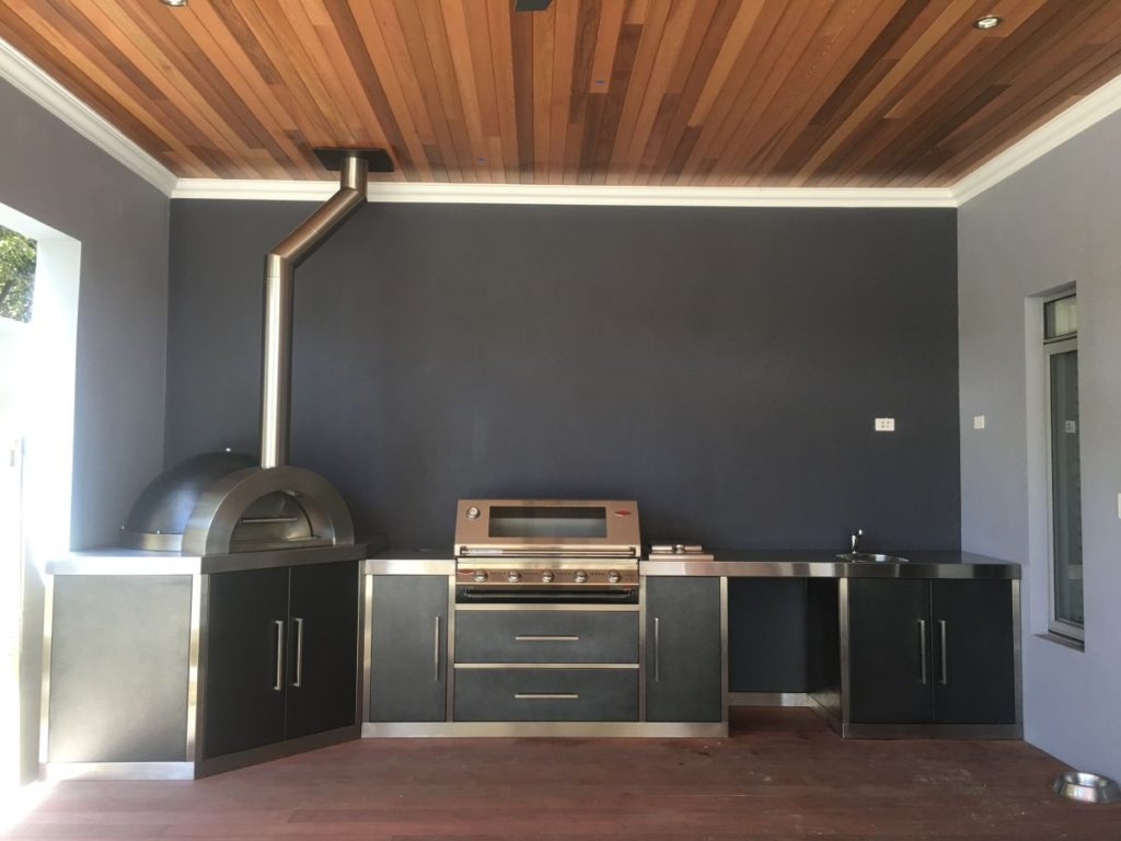 Outdoor kitchen cabinets perth alfresco outdoor kitchen for Kitchen cabinets perth